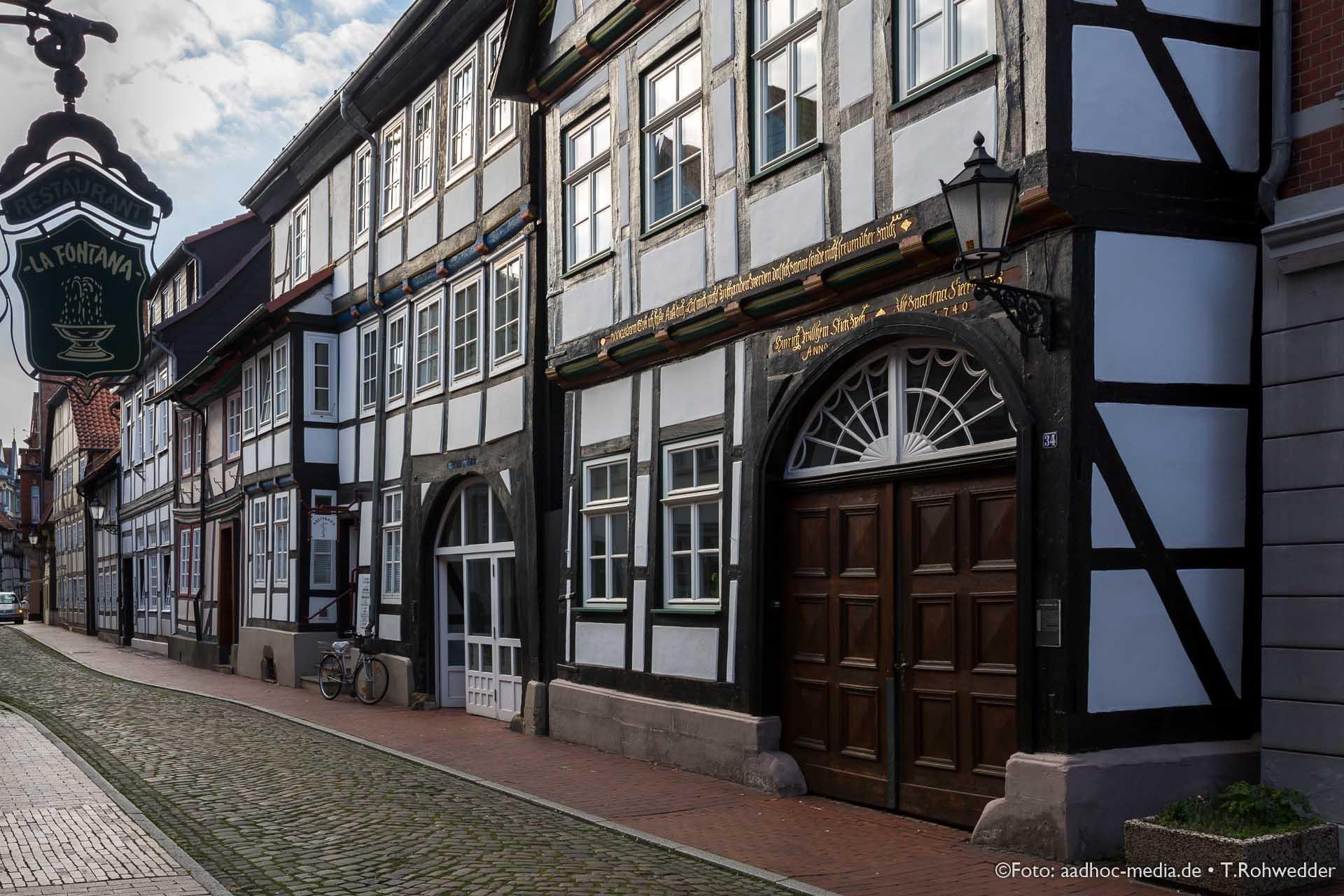 Altstadt der Rattenfängerstadt Hameln