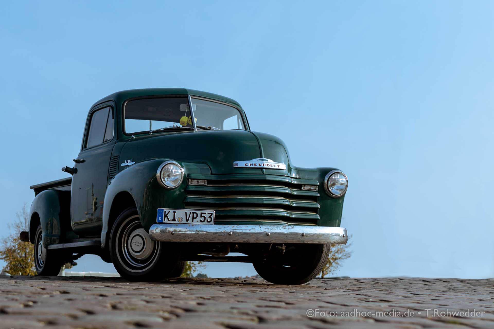 Oldtimer - Chevrolet 3100 - Bauern- und Regionalmarkt Kiel