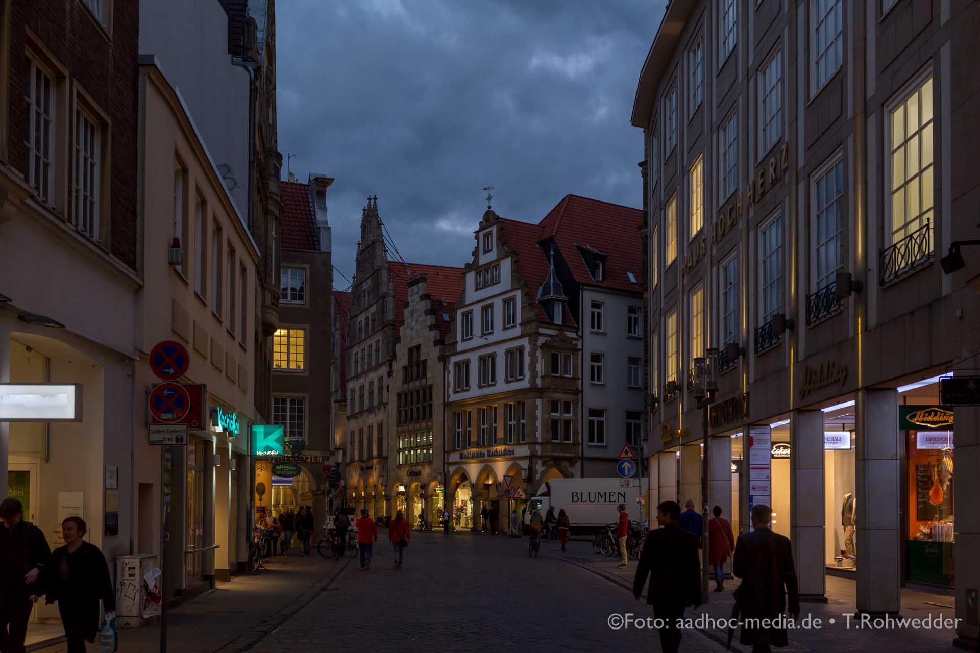 Der Momentalist und Hochzeitsfotograf auf der Durchreise in Münster.