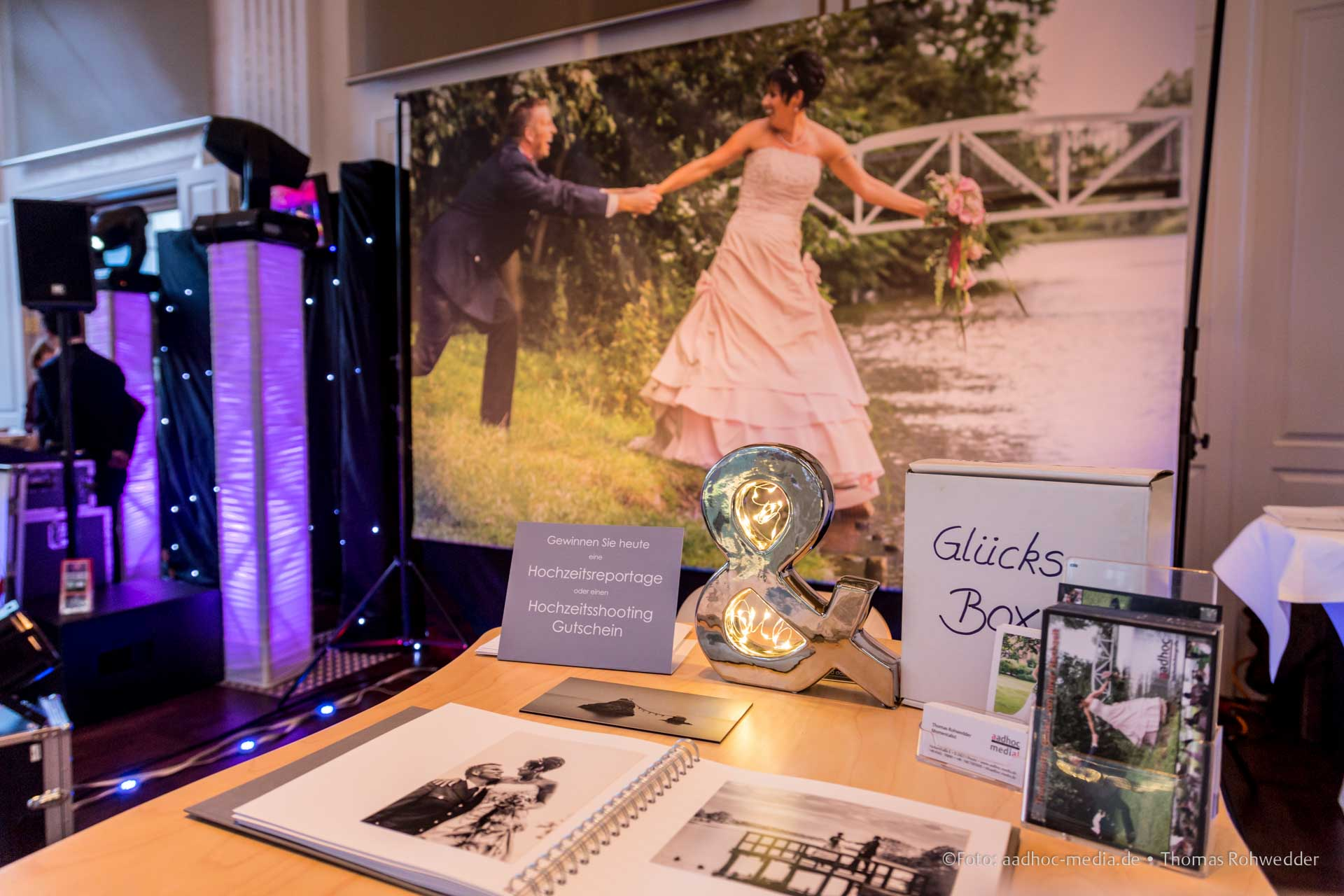 Hochzeitsmesse im Kieler Yacht-Club 17. +18.01.2015 | © Foto: aadhoc-media • Thomas Rohwedder