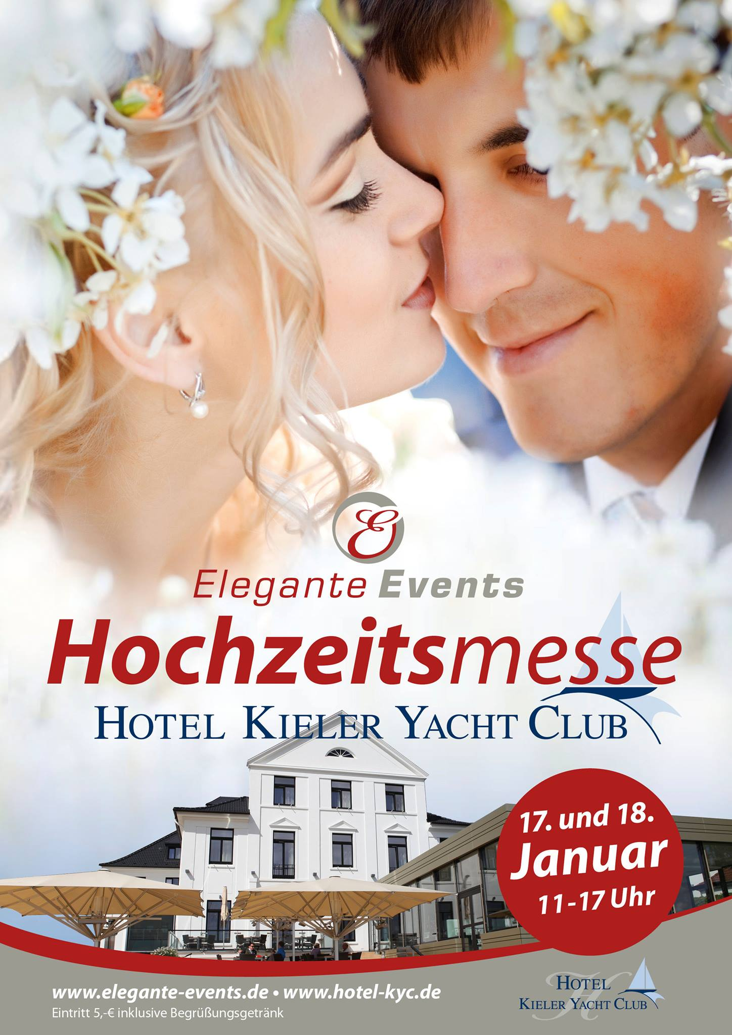 Hochzeitsmesse am 17. + 18. Januar 2015 im Kieler Yacht-Club - Hochzeitsfotograf Thomas Rohwedder • aadhoc-media.de