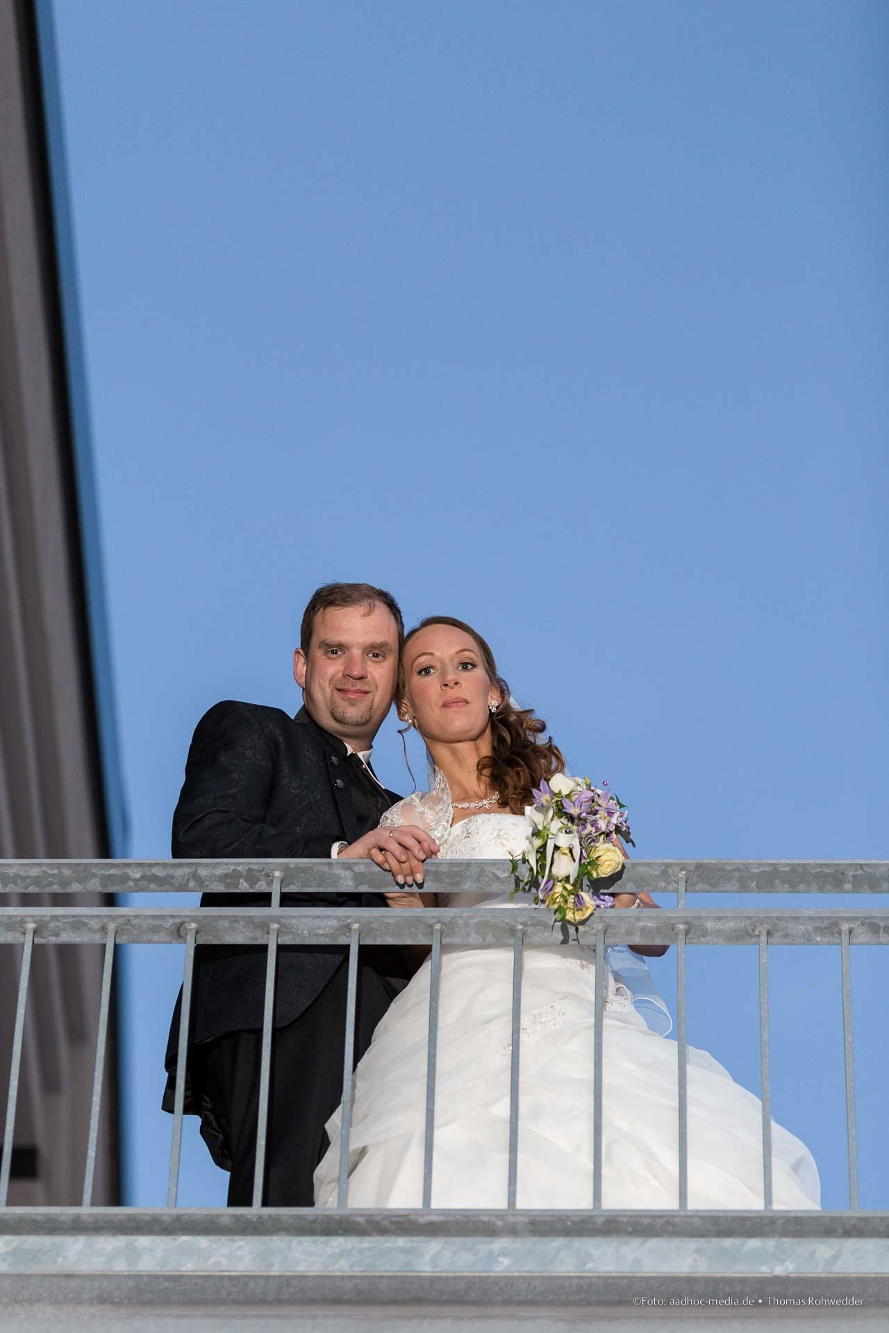Portraitshooting im Rahmen der Hochzeitsreportage...