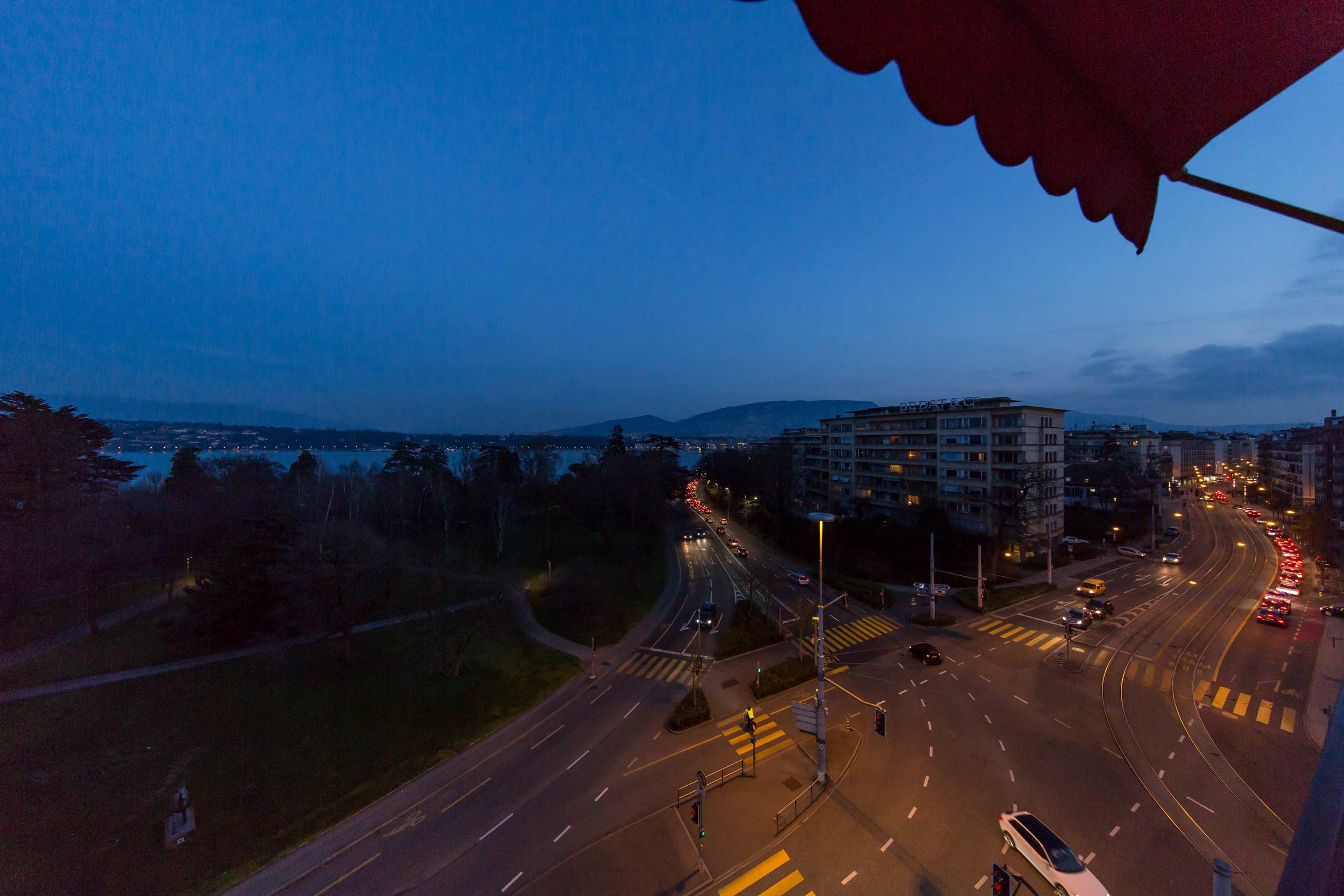 Genf - Autobilsalon - UNO Hauptsitz in Europa