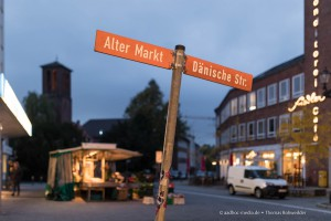Kiel - Altermarkt steht schief • Fotograf Kiel ©Foto: aadhoc-media.de • Thomas Rohwedder