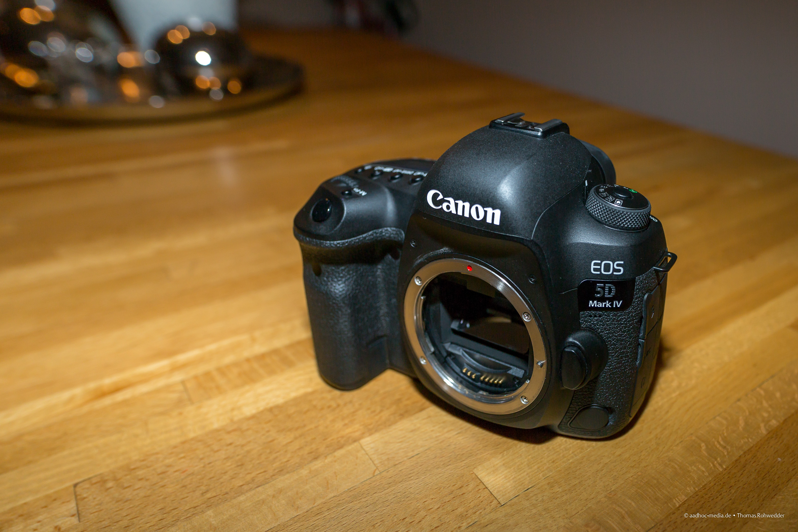 Canon 5D Mark IV nach dem Test. • ©Foto aadhoc-media.de • Thomas Rohwedder