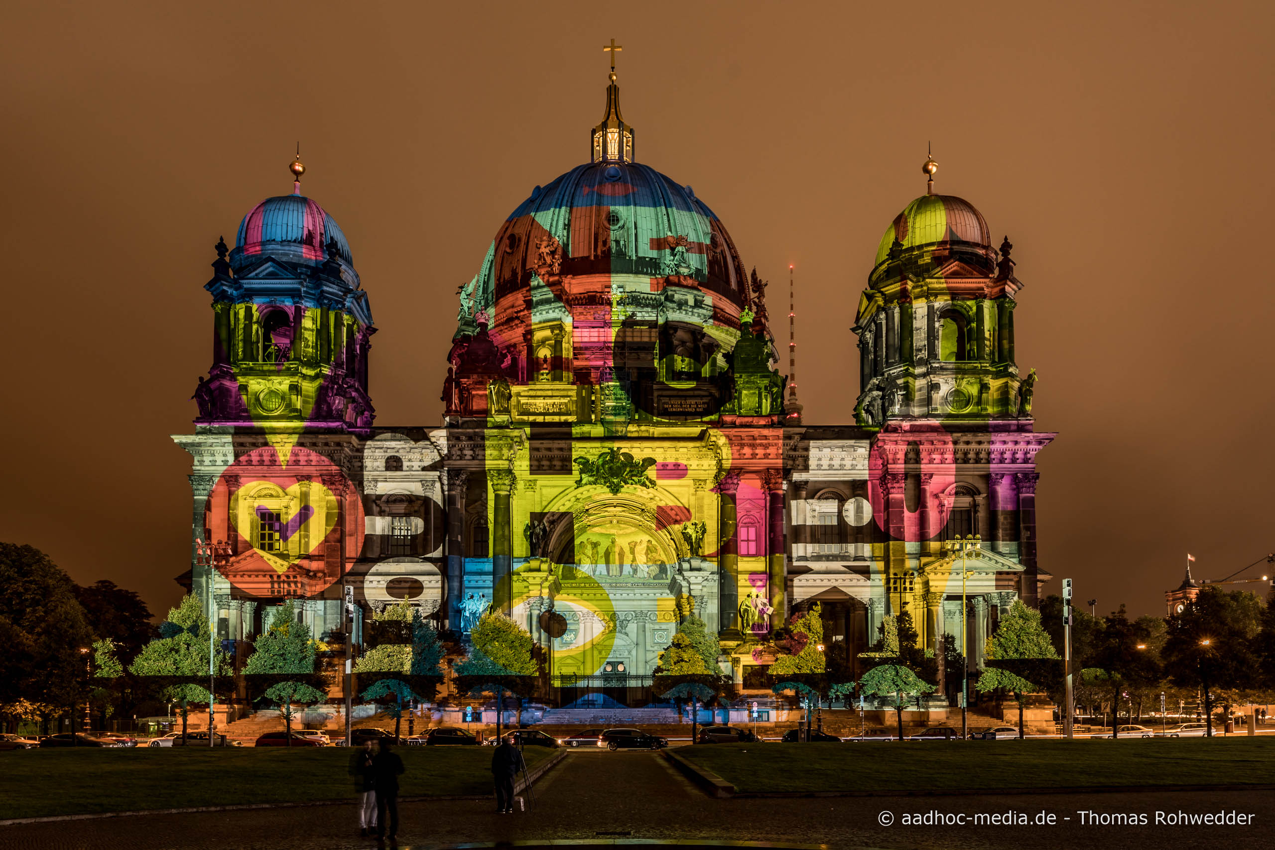 Dom zum Festival of Lights in Berlin • Bild aus dem Canon 5D Mark IV Test • ©Foto aadhoc-media.de • Thomas Rohwedder