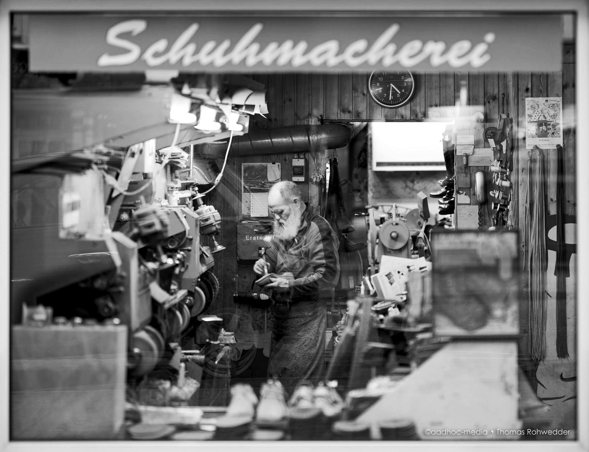 Schuhmacher ©Foto: aadhoc-media • Thomas Rohwedder