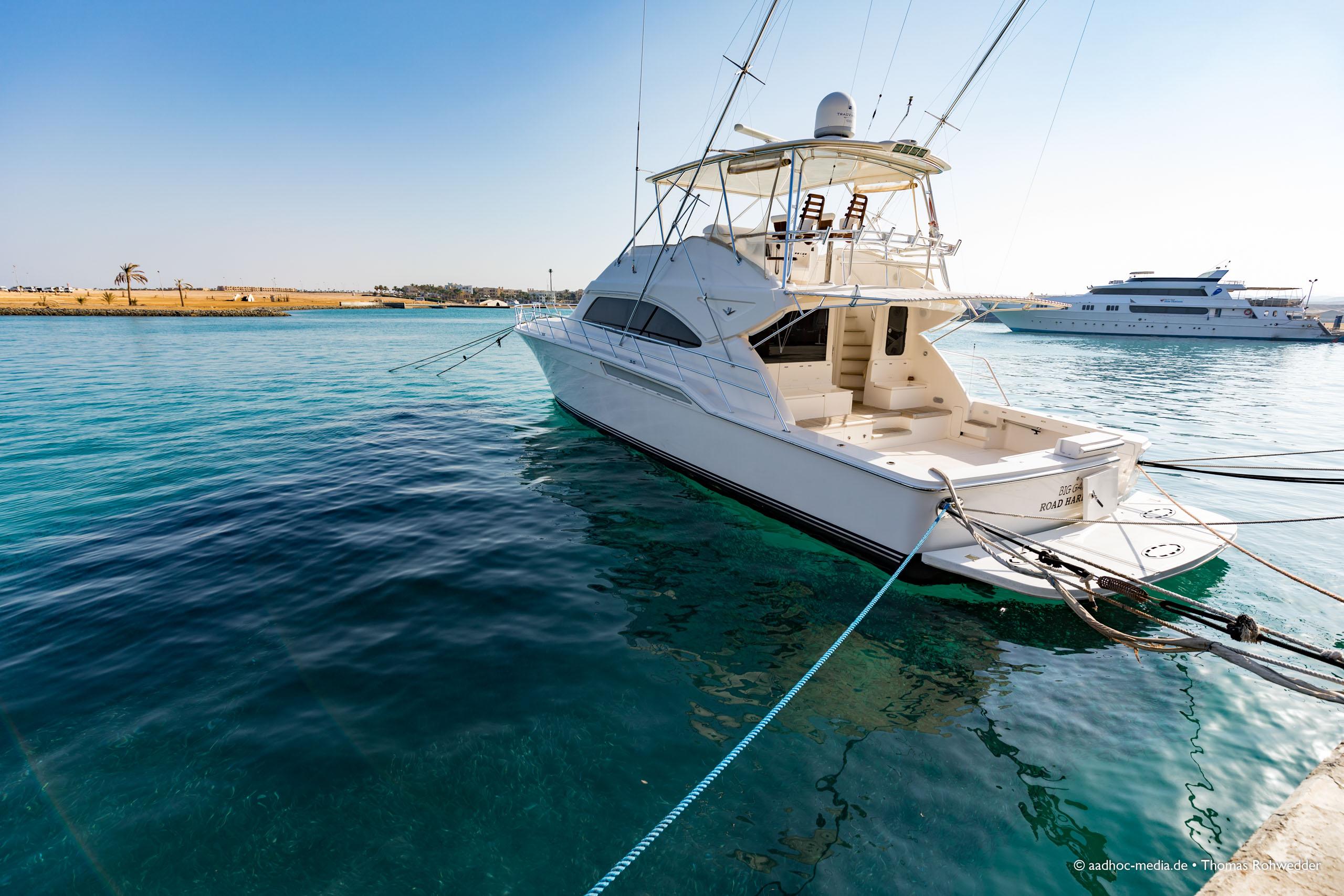 Port Ghalib • Egypt, Ägyptenreise nach Marsa Alam 2018. © aadhoc-media • Thomas Rohwedder