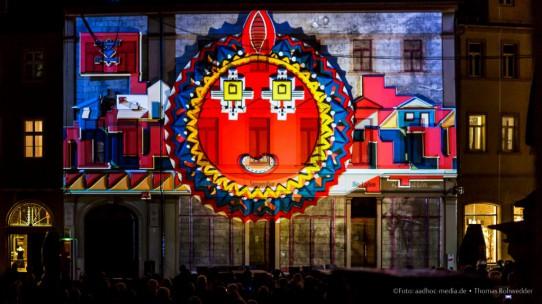 Genius Loci Weimar – Wettbewerb für Fassadenprojektion 2014