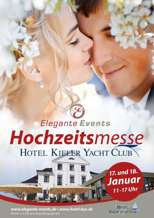 Hochzeitsmesse im Kieler Yachtclub 2015 am 17. + 18. Januar 2015 mit dabei der Momentalist • Thomas Rohwedder • aadhoc-Hochzeitsbilder