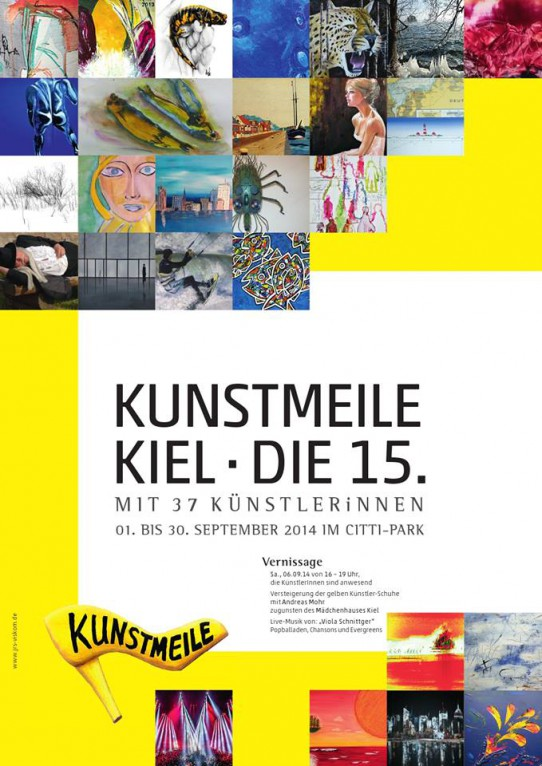 Kunstmeile 2014 • Vernissage • Citti Park