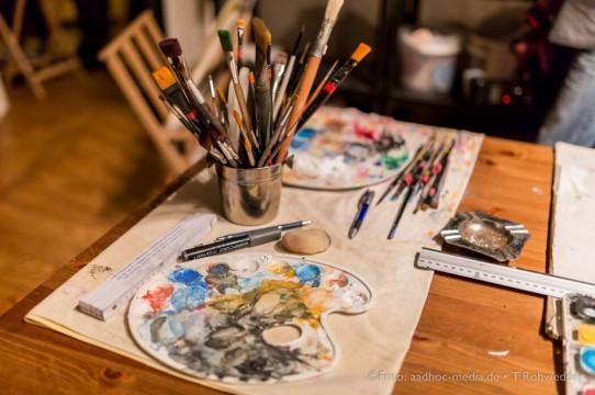 Eröffnung Atelier KuschArt • Neumünster